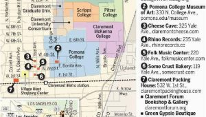 Map Claremont California 11 Best In Out Of the Neighborhood Images On Pinterest Things to