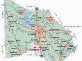 Map Conroe Texas Conroe Map Falsomesias Com