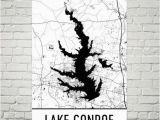 Map Conroe Texas Lake Conroe Texas Lake Conroe Tx Texas Map Texas Decor Lake Map