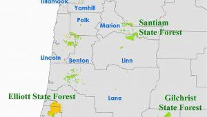 Map Coos Bay oregon orww Elliott State forest Maps