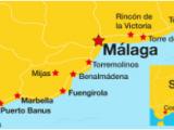 Map Costa Del sol Spain Costa Del sol On A Budget Incl Marbella torremolinos