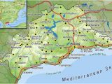 Map Costa Del sol Spain top Places to Live as An Expat On Spain S Costa Del sol