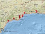 Map Costa Del sol Spain where to Stay In the Costa Del sol Best Cities Hotels