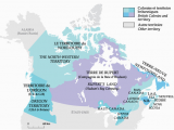 Map De Canada En Francais 1825 after the War Of 1812 Immigration to British north America Led