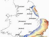 Map East Coast England Principal Aquifers In England and Wales Aquifer Shale and