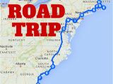 Map East Coast England the Best Ever East Coast Road Trip Itinerary Road Trip