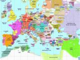 Map Europe 1300 36 Intelligible Blank Map Of Europe and Mediterranean