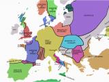 Map Europe 1750 atlas Of European History Wikimedia Commons