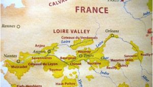 Map France Loire Valley Loire Valley Property for Sale Houses for Sale In Loire Valley