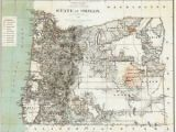 Map Hillsboro oregon Details About 1879 oregon Map or Hillsboro Madras north Bend Molalla