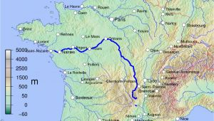 Map Loire Valley France Loire Wikipedia