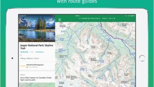 Map My Route Canada Viewranger Hike Ride or Walk On the App Store