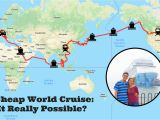 Map My Trip Europe A Cheap World Cruise How We Used A Travel Trick to Afford