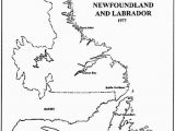 Map Nfld Canada Newfoundland and Labrador Land and Property Records
