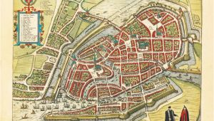 Map Nimes France Amazing Maps Of Medieval Cities Maps City Historical Maps Map
