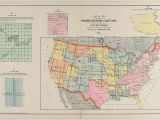 Map northwest Ohio Map Showing the Principal Meridians and Base Lines Of the United