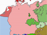 Map Of 11th Century Europe Linguistic Map Of Central Europe 1910 without Borders