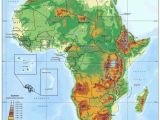Map Of Africa and Europe with Countries Elevation Map Of Africa Maps Africa African Countries