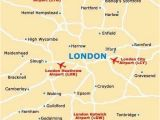 Map Of Airports In London England London Airport Map Pergoladach Co