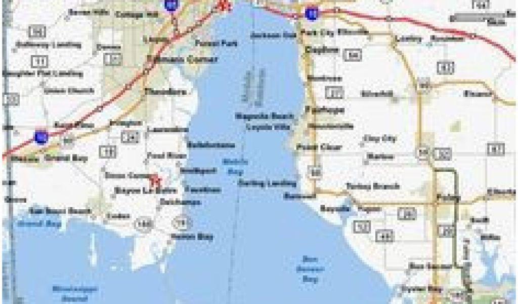 Alabama Beaches Map Map Of Alabama and Mississippi Beaches Alabama Beaches Map Best Of