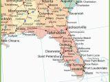 Map Of Alabama and Mississippi Beaches Map Of Alabama Georgia and Florida