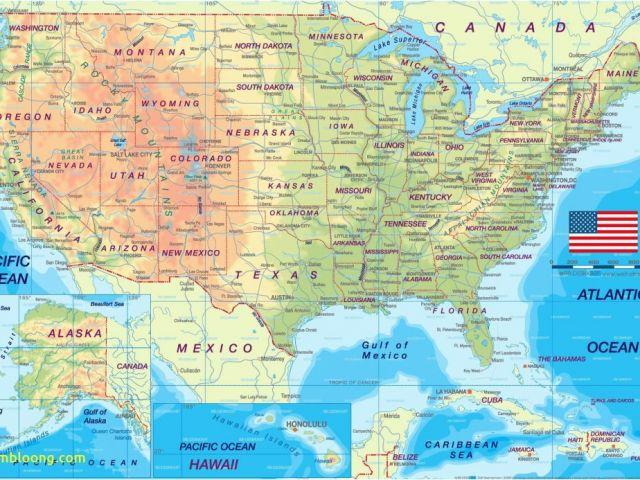 Map Of Alabama and Surrounding States Us Map Us Highways Map Usa ...