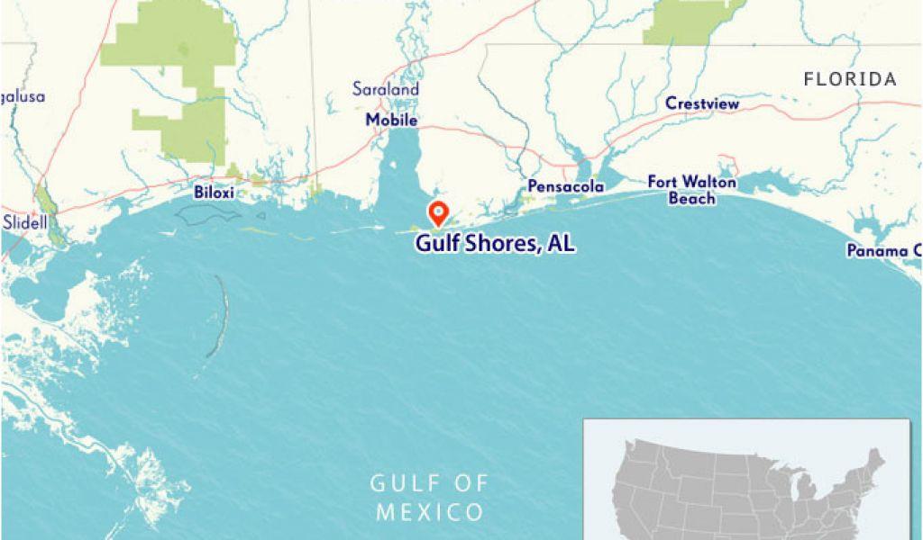 Gulf Coast Map Florida.Map Of Alabama Beaches Map Of Gulf Shores Alabama Live Beaches