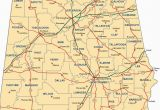 Map Of Alabama by County Alabama Outline Maps and Map Links