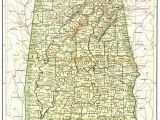 Map Of Alabama Counties Alabama County Map with Roads Ny County Map