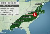 Map Of Alabama tornadoes Heavy Rain to Raise Flood Concerns In southern Us Early This Week