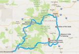 Map Of Alamosa Colorado Your Out Of town Visitors Will Love This Epic Road Trip Across