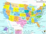 Map Of Alaska Canada and Usa top 10 Punto Medio Noticias Map Of United States and Canada Time Zones