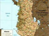Map Of Albania In Europe Map Of Albania Albania Albania Albania Travel Visit