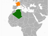 Map Of Algeria and France French Algeria Revolvy