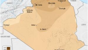 Map Of Algeria and France French Algeria Wikipedia