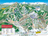 Map Of All Colorado Ski Resorts Trail Maps Arrowhead at Vail