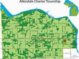 Map Of Allendale Michigan Grand Valley State University Wikivisually