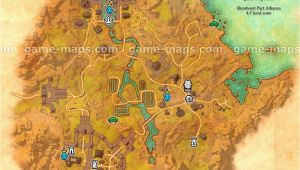 Map Of Alliance Ohio Bal Foyen Zone Map Coastal City In Ebonheart Pact Alliance Near