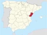 Map Of Almeria Spain Province Of Castella N Wikipedia