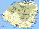 Map Of Aloha oregon Map Of Kauai towns Map Of Kauai island with Roads and Cities