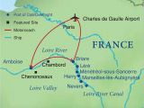 Map Of Amboise France Cruising the Loire Canal Smithsonian Journeys