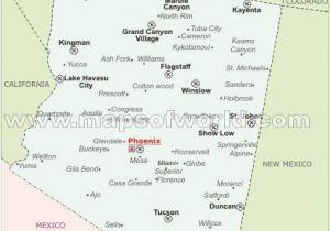 Map Of Arizona Airports Arizona Airports Map