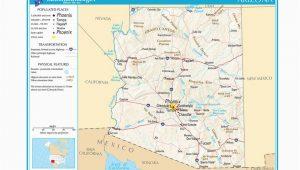 Map Of Arizona with Grand Canyon | secretmuseum