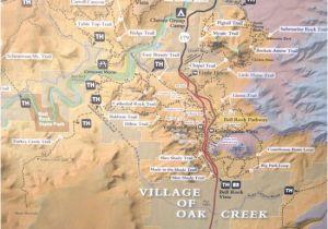 Map Of Arizona Highways Sr 179 Highlight Map Red Rock Scenic Highway Sedona Az Picture