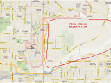 Map Of Arizona Indian Reservations Indian Reservations In Arizona Map Best Of Indian Reservation Map