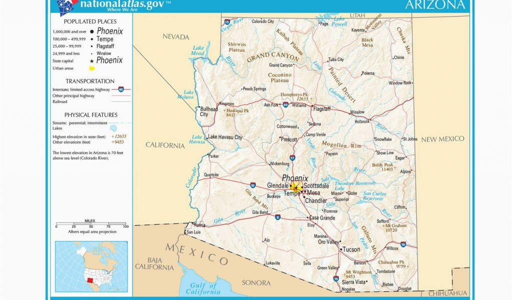 Map Of Arizona New Mexico and Texas Maps Of the southwestern Us for ...