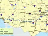 Map Of Arizona New Mexico Texas and Oklahoma Maps Of Route 66 Plan Your Road Trip