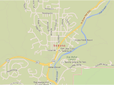 Map Of Arizona Showing Sedona Sedona Arizona Map with Directions and Address