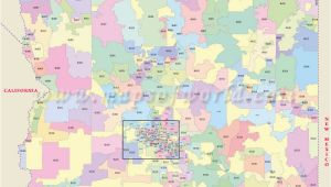 Map Of Arizona Zip Codes Arizona Zip Code Map