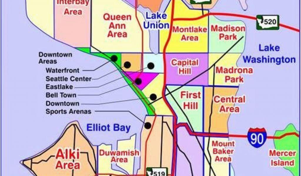 Map Of atlanta Georgia Suburbs Map Of Seattle Washington ...